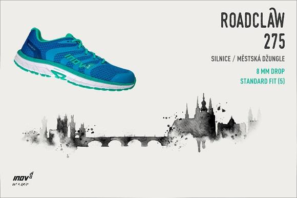 ľahká cestná bežecká obuv Inov-8 Roadclaw 275