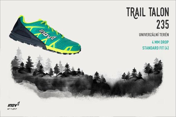 bežecká obuv Inov-8 Trail Talon 235
